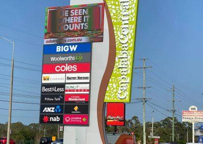 roadside signages of stores