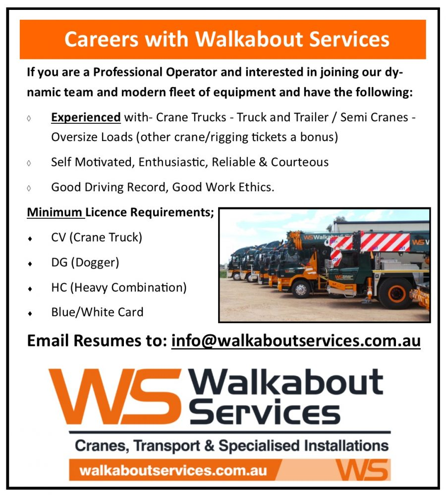 careers walkabout services